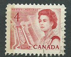 Canada SG 582p Vfu side phosphor perf 12