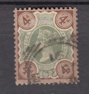 J27521 1887-92 great britain used #116 queen