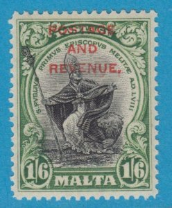 MALTA 161 MINT  HINGED OG * NO FAULTS EXTRA FINE !