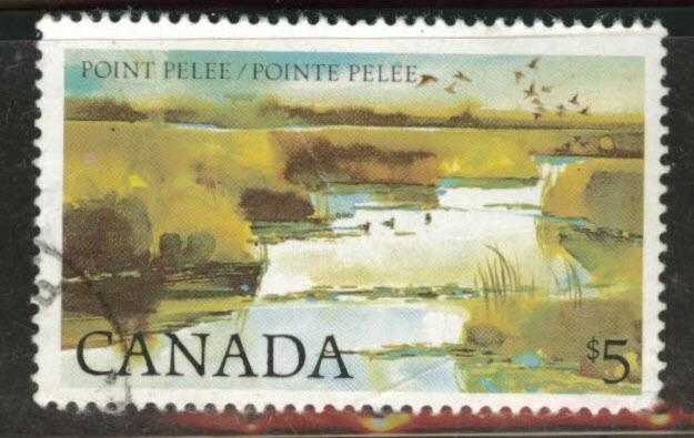 Canada Scott 937  used $5 stamp