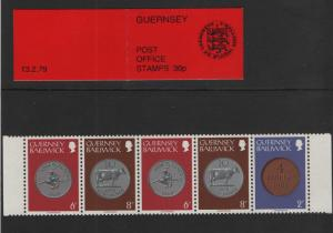 Guernsey  1979 booklet 30 p arms of Guernsey