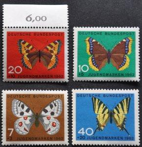 DYNAMITE Stamps: Germany Scott #B380-383 – MNH