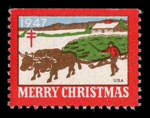 WX 136 Christmas Seal Mint (NH) 1947