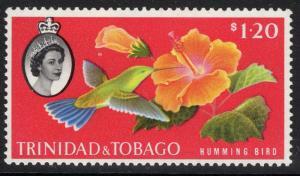 TRINIDAD & TOBAGO SG296 1960 $1.20 DEFINITIVE MNH