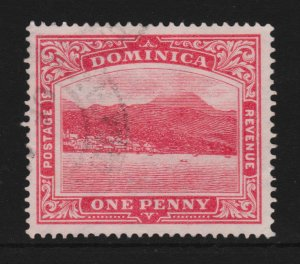 Dominica 1908 Sc51a Used G-F