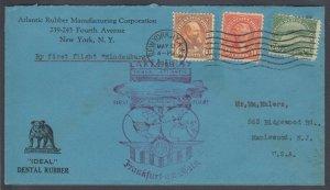 USA 1936 Lakehurst Graf Zeppelin cover from New York