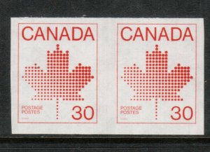 Canada #950a Extra Fine Never Hinged Imperf Pair