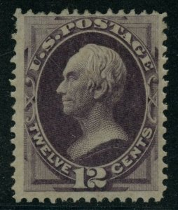 #151 12c 1870 VF OG LH WITH PF CERT CV $2,750 WLM9289