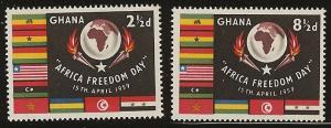 Ghana  mh 46 - 47