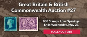 The 27th Great Britain & Commonwealth Auction