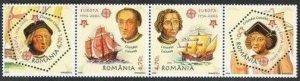 Romania 4750,4750E,MNH. EUROPE CEPT-2005.Christopher Columbus,Ships.