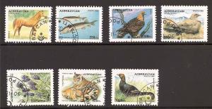 Azerbajan 539-545 Used VF