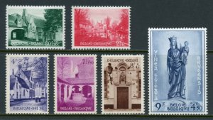 BELGIUM  SCOTT#B561/66   MINT HINGED WITH REMNANT -SCOTT $175.00 FOR NH