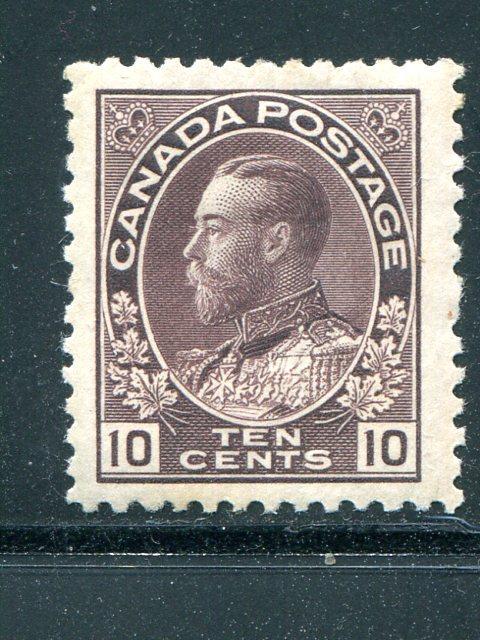 Canada #116    Mint Superb  Jumbo  -  Lakeshore Philatelics