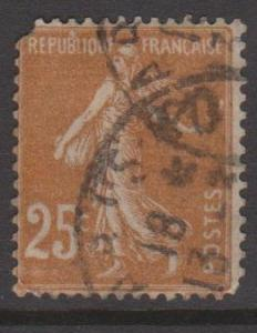 France Sc#169 Used rounded corner