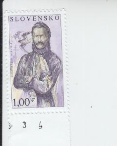 2015 Slovakia L'udovit Stur  (Scott 724) MNH