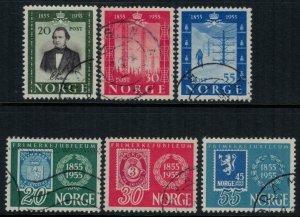 Norway #334-9  2 sets  CV $3.60