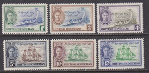 British Honduras Sc #131-136 Mint Hinged; Mi #128-133