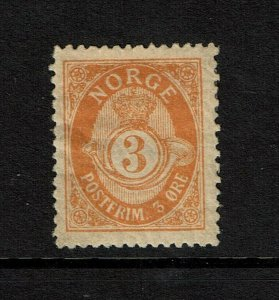 Norway SC# 38a, Mint Hinged, Hinge/Page Rem, some creasing and bending - S9213