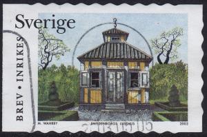 Sweden - 2003 - Scott #2464a - used - Garden Pavilion