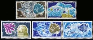 Scott #C49-53 Satellites MNH