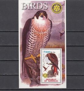 Somalia, 2002 Cinderella issue. Bird of Prey s/sheet.