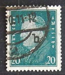 1928, Friedrich Ebert, Reich, Germany, MC #413, (2223-T)