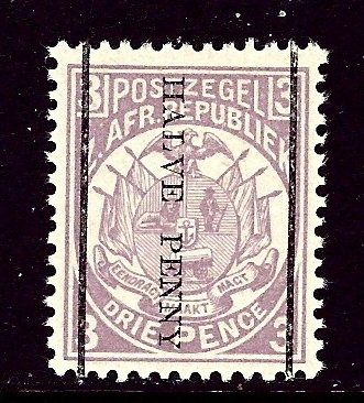 Transvaal 140 MLH 1885 surcharge    (ap4296)
