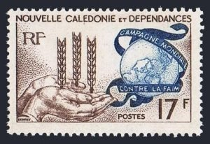New Caledonia 323 block/4,MLH/MNH.Mi 387. FAO.Freedom from Hunger campaign,1963.