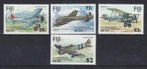 FJ76) Fiji 1993 75FJ75) Fiji 1993 75th Anniversary of RAF M/S MUH. Price: $10.50