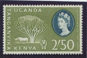 Kenya Uganda Tanganyika SG 195  Mint Never Hinged