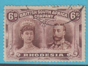 RHODESIA 108 USED  NO FAULTS VERY FINE !