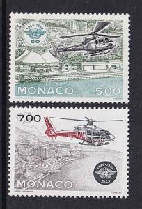 Monaco  #1928-1929    MNH  1994   helicopters