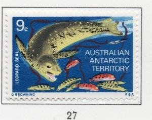 AUSTRALIA ANTARCTIC 1973 Early Issue Fine Mint Hinged 9c. 205072