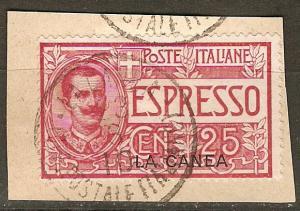 Italy Off Crete E1 SG E1 O/P F/VF 1906 SCV $17.50