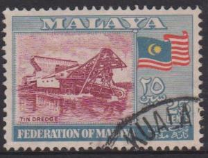 Federation of Malaya Sc#82 Used