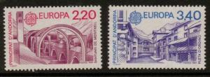 ANDORRA SGF390/1 1987 EUROPA MNH