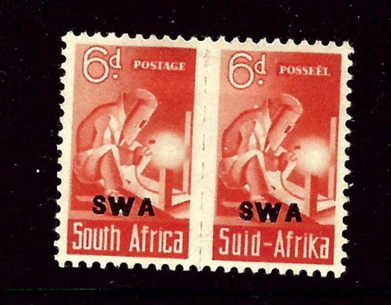 Southwest Africa 150 MH 1942 overprint Pair