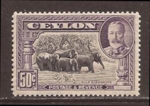 Ceylon scott #273 m/nh stock #N4314