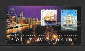 SHIPS - IRELAND #1178  POLLY WOODS  MNH