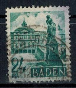 Germany - French Occupation - Baden - Scott 5N22