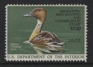 US, RW53, 1986, MNH, DUCK STAMP