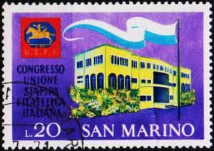 San Marino.1971 20L S.G.910 Fine Used