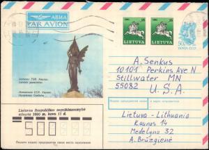 Lithuania, Postal Stationery
