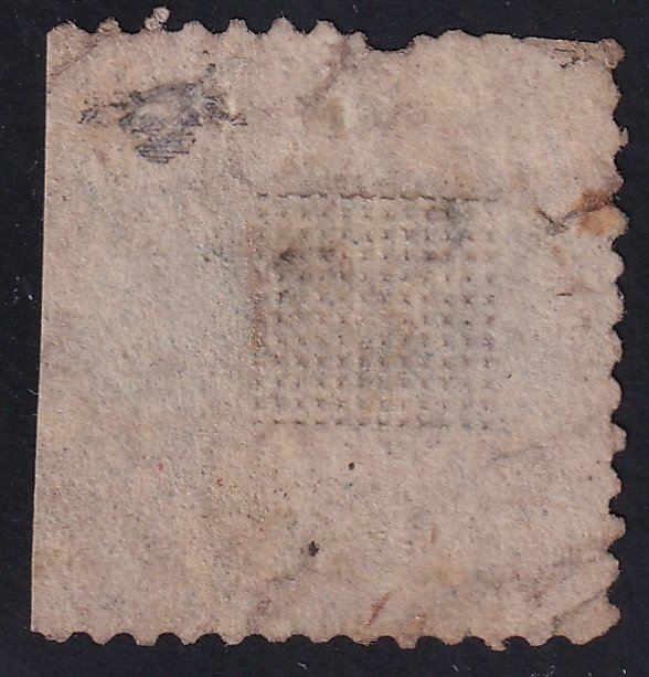 US STAMP 119 1869 15¢ Landing of Columbus Type II Pictorial used faults