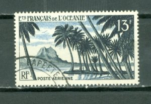 FRENCH POLYNESIA BORABORA #C23.....USED NO THINS...$5.50