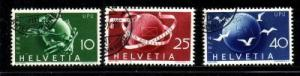Switzerland Sc 190-2 1919 Peace stamps used