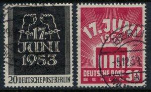 Germany #9N99-100  CV $26.50