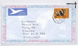 BOTSWANA Cover *Gabarone* Commercial Air Mail 1978 {samwells} Chrysotile CE207