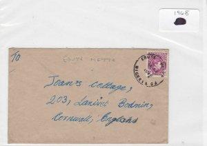 Nigeria 1948 stamps cover Ref 8717